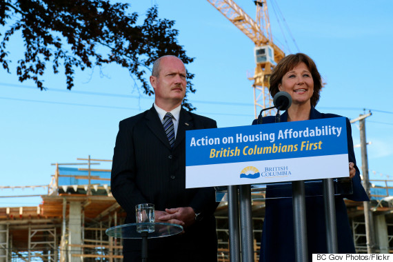 christy clark mike de jong