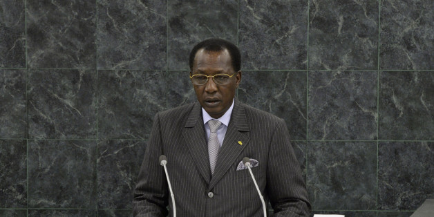 Idriss Deby Itno, President of Chad, addresses the 68th United Nations General Assembly at UN headquarters in New York, September 25, 2013.  REUTERS/Mary Altaffer/Pool  (UNITED STATES  - Tags: POLITICS)