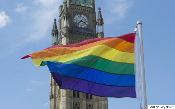 pride flag parliament