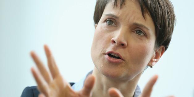 AfD-Vorsitzende Frauke Petry will nur unter bestimmten Bedingungen an die Regierung,