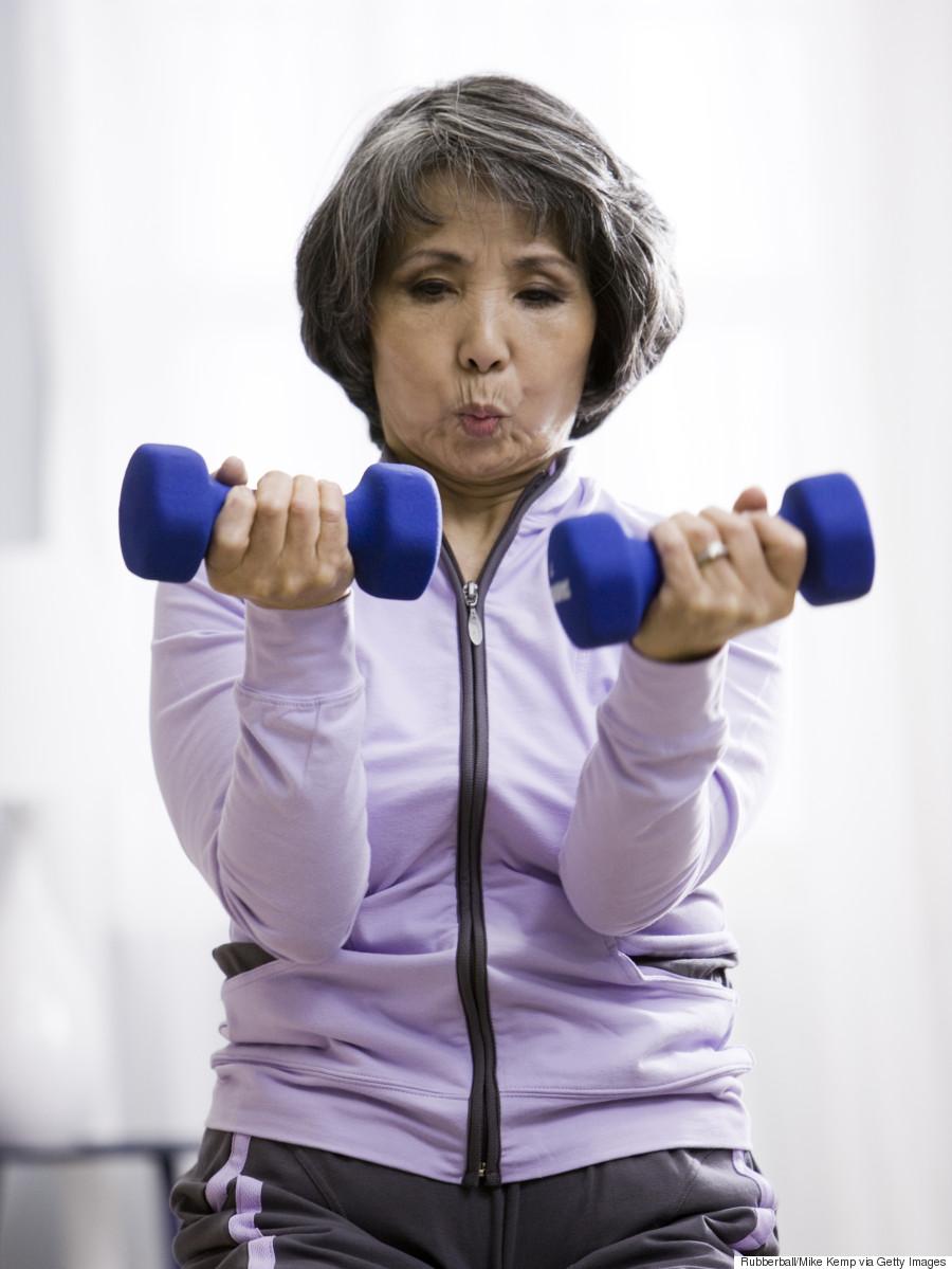seniors weights