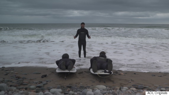 lawrencetown beach surfing like a tourist