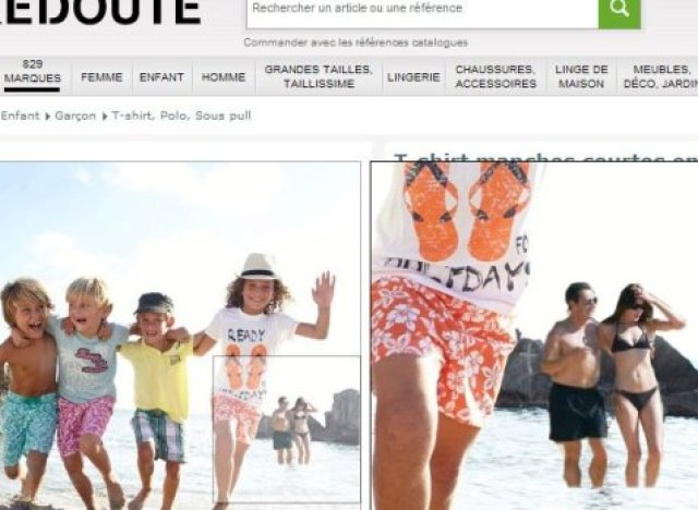 la redoute misses the naked guy