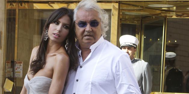 Flavio Briatore (hier mit seiner Frau Elisabetta Gregoraci) spricht über seine Beziehung zu seiner Tochter Leni, die er gemeinsam mit Heidi Klum hat