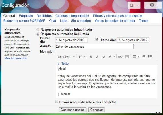 truco 5 gmail