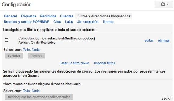 truco 6 gmail