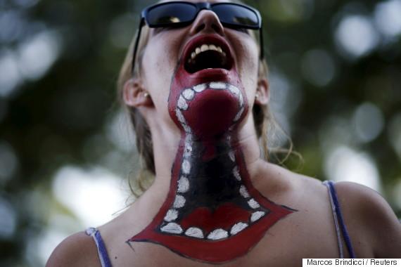 argentina women protest
