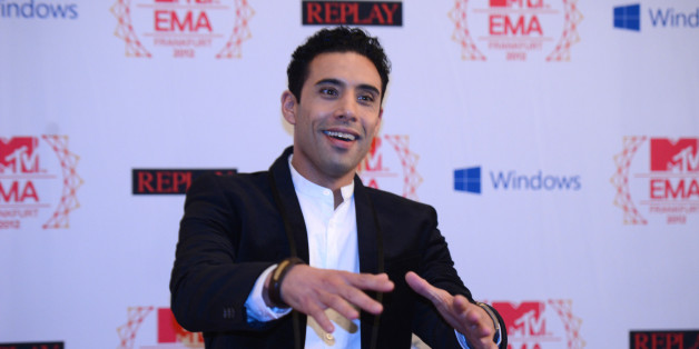 Moroccan singer  Ahmed Soultan poses for photographers on the red carpet for the 2012 MTV European Music Awards (EMA) at the Festhalle in Frankfurt am Main, central Germany on November 11, 2012. AFP PHOTO / JOHANNES EISELE        (Photo credit should read JOHANNES EISELE/AFP/Getty Images)