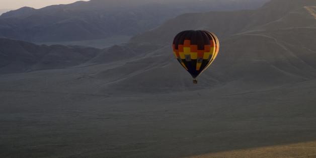 Ein Heißluftballon (Symbolbild)