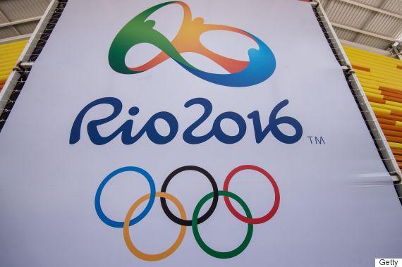 rio olympics sign