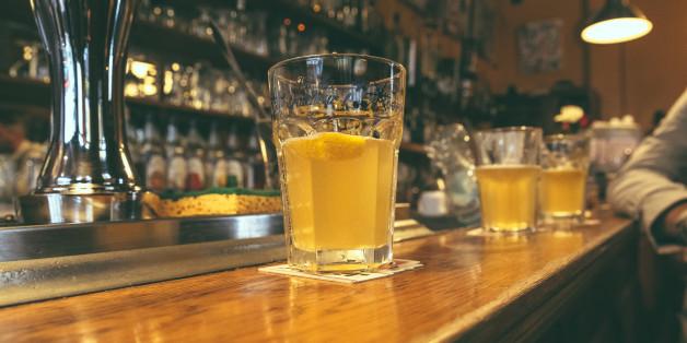 Belgium Beer in a Lille bar
