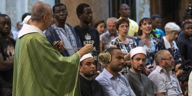 Nach Rouen-Attentat: Muslime in Frankreich besuchten katholische Sonntagsmessen