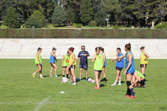 entrenamiento chicas