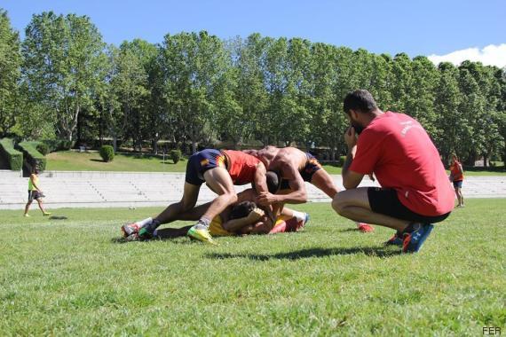 entrenamiento españa