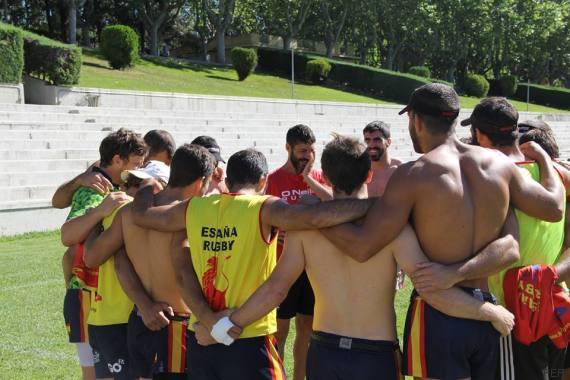entrenamiento masculino rugby