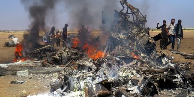 Kampf um Aleppo: Syrische Rebellen schießen russischen Helikopter ab