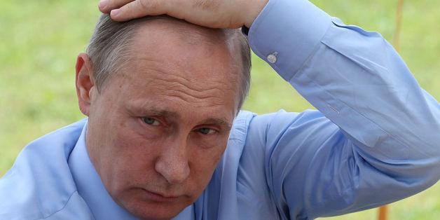 Putin macht die Wirtschaftskrise im Land Sorgen