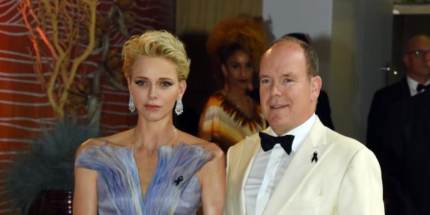 Prinz Albert II und Charlene sind in den USA