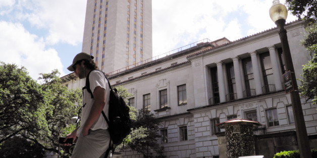 FILE PHOTO --  A student walks at the University of Texas campus in Austin, Texas, June 23, 2016. The U.S. Supreme Court on Thursday, upheld the practice of considering race in college admissions, rejecting a white woman's challenge to a University of Texas affirmative action program designed to boost the enrollment of minority students. REUTERS/Jon Herskovitz/File Photo