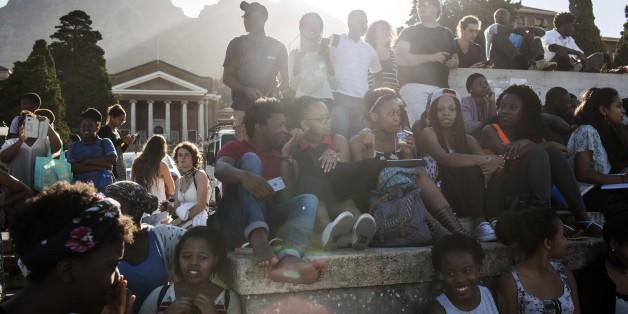 Die Studentenproteste im Oktober 2015 zeigten, wie unzufrieden die Studenten mit dem Bildungssystem in Südafrika sind