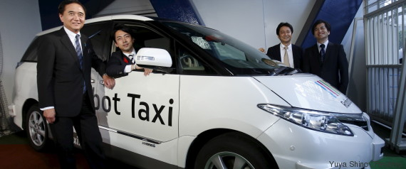 self driving taxi japan
