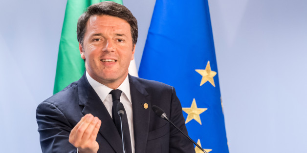 Italian Prime Minister Matteo Renzi speaks during  an EU summit in Brussels on Wednesday, June 29, 2016. European Union leaders are meeting without Britain for the first time since the British referendum to rethink their bloc and keep it from disintegrating after Britain's unprecedented vote to leave. (Geert Vanden Wijngaert)