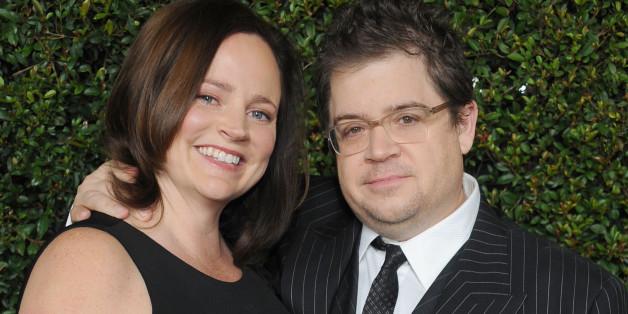 Patton Oswalt und Michelle McNamara.