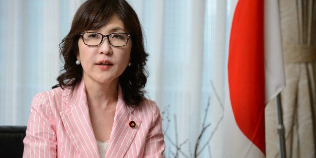 Tomomi Inada, chairwoman of the Policy Research Council of the Liberal Democratic Party of Japan (LDP), speaks during an interview in Tokyo, Japan, on Wednesday, June 15, 2016. Abenomics needs to accelerate its efforts on structural reforms rather than counting on further monetary stimulus to spur growth, according to Inada. Photographer: Akio Kon/Bloomberg via Getty Images