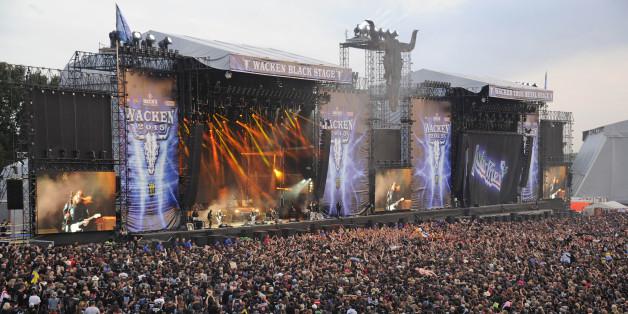 Wacken ist eines der bekanntesten Open-Air-Festivals - hier könnt ihr es online sehen