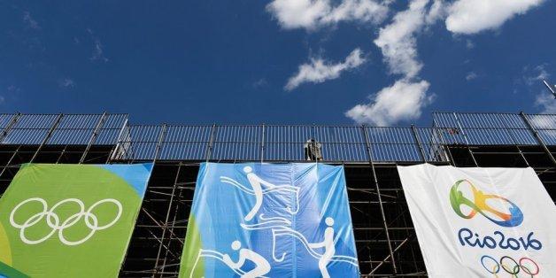 Olympiastimmung ist in Brasilien noch nicht aufgekommen