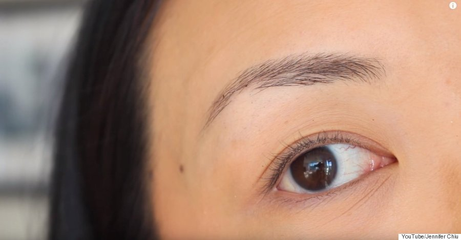 diy tinted brows