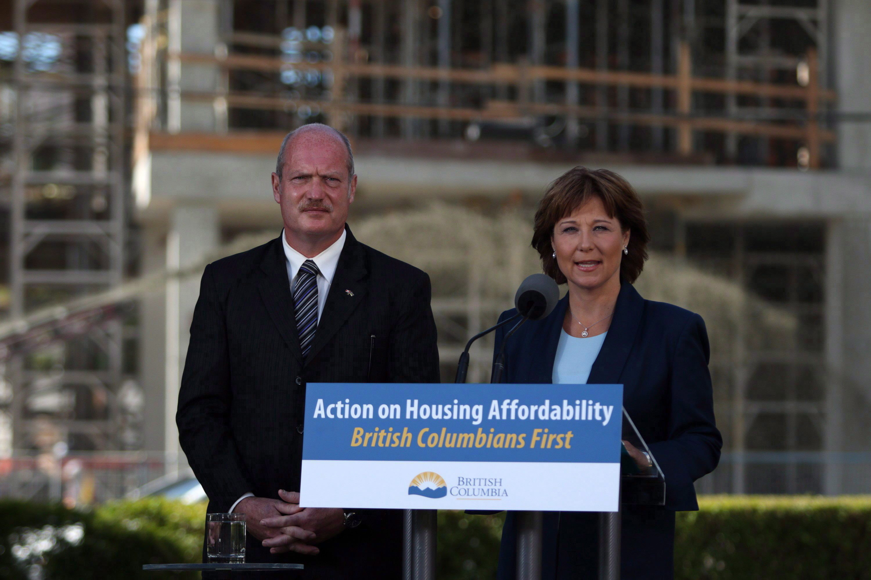 christy clark michael de jong