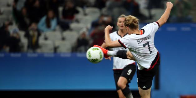 Deutschland will im Frauenfußball Gold holen - am 19. August steht das Olympia-Finale der Sportart an