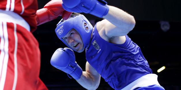 Verschiedene Box-Finals stehen am letzten Olympia-Tag 2016 an - Erik Pfeifer ist in Form, reicht es für die Entscheidung im Superschwergewicht? (Archivbild)