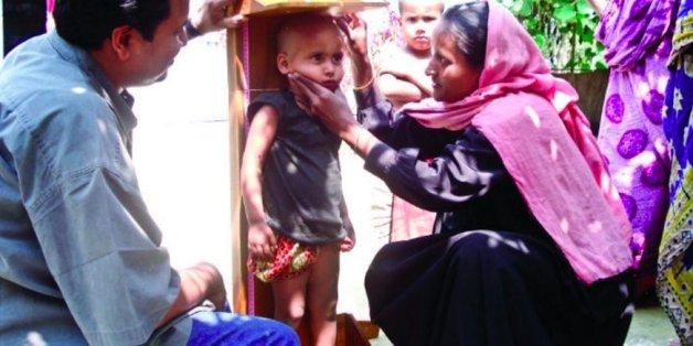 Gute Nachrichten: Der Nachwuchs in Bangladesch wächst.
