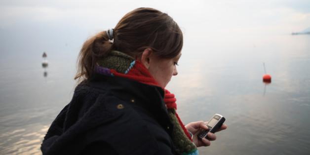 Eine Mutter sah diese Nachricht auf dem Smartphone ihrer Tochter - und rief sofort die Polizei