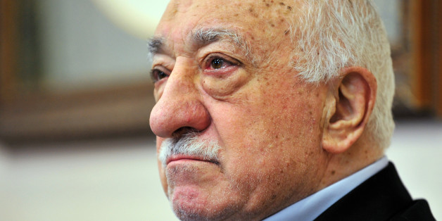FILE - In this Sunday, July 17, 2016 file photo, Islamic cleric Fethullah Gulen speaks to members of the media at his compound, in Saylorsburg, Pa. In a dispute between NATO allies, Turkey demands that the United States extradite Fethullah Gulen, a Pennsylvania-based Turkish cleric, to face charges of engineering a coup attempt. But despite indications that his followers were behind the failed military uprising, analysts say concerns about whether Gulen could get a fair trial complicate Turkeyâ