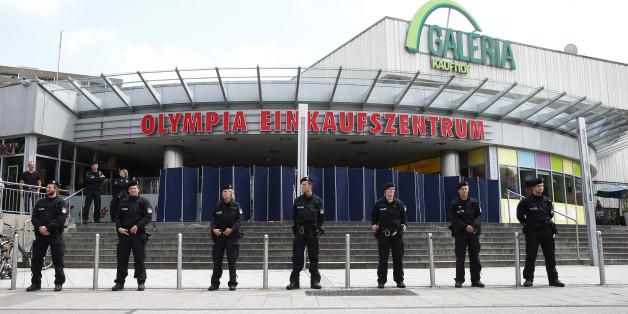Polizei in München am OEZ