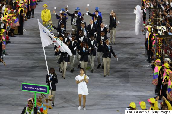 opening ceremony refugee