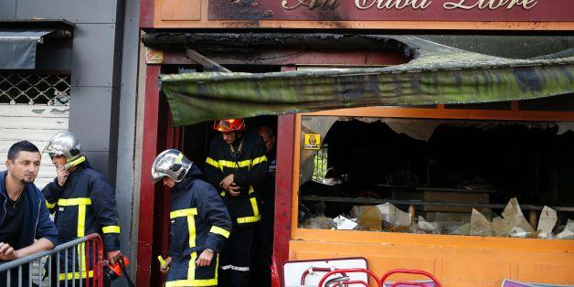 Mindestens 13 Menschen starben bei Brand in einer Bar