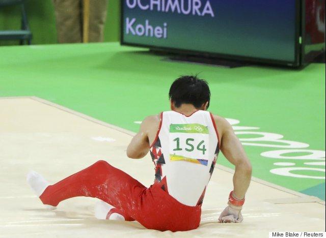 kohei uchimura 2016
