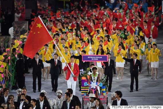 china olympic opening