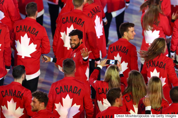 team canada olympic opening