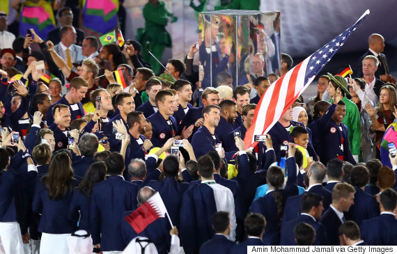 team usa olympic opening