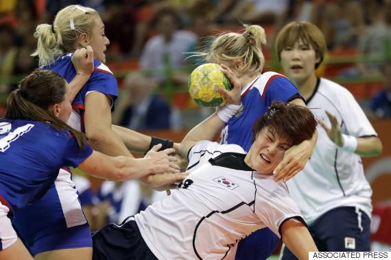 olympic women handball korea