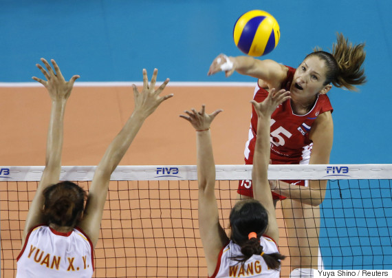 russia volleyball kosheleva