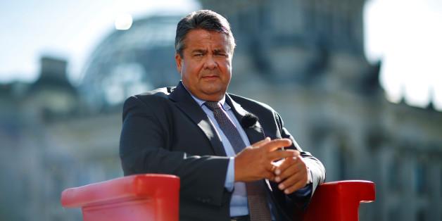 Vizekanzler Sigmar Gabriel beim ARD-Sommerinterview