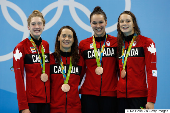 canada freestyle relay