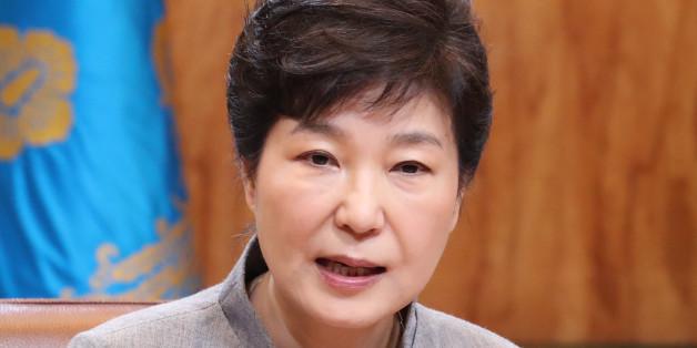 박근혜 대통령이 8일 오전 청와대에서 열린 수석비서관회의에서 발언하고 있다