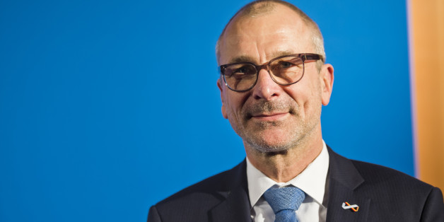 Berlin, Germany - November 04: Member of German Parliament Bundestag, Volker Beck, attends award ceremony of Leo Baeck Prize  on November 04, 2015 in Berlin, Germany. (Photo by Michael Gottschalk/Photothek via Getty Images)
